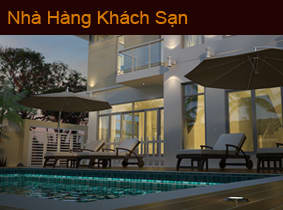 kien truc nha hang khach san